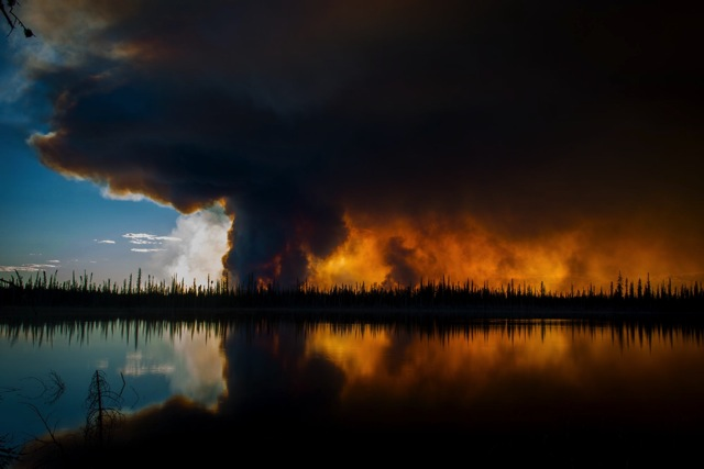 NWT forest Fire