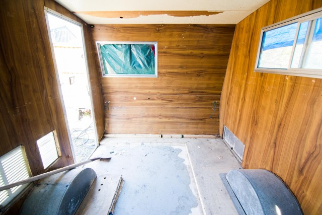 Camper turned into a Studio/Office
